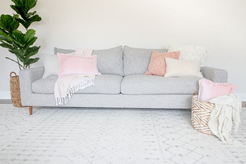 Using Marshalls Throw Pillows to Decorate the Room