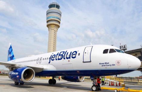 JetBlue Traveling with Infant Instruction for Safety and Comfort Flight