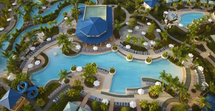 Family-Friendly Orlando Hotels with Waterslides and Lazy River
