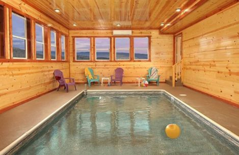 Cabins with Indoor Pools in Pigeon Forge TN and Top 3 Cabins to Visit